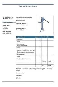 waterpomp calculatie 2015